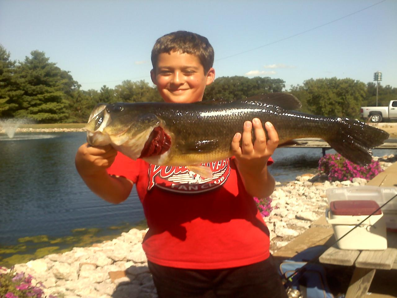Herman brothers blog 1 4 acre pond trophy fish for Ponds 4 fish