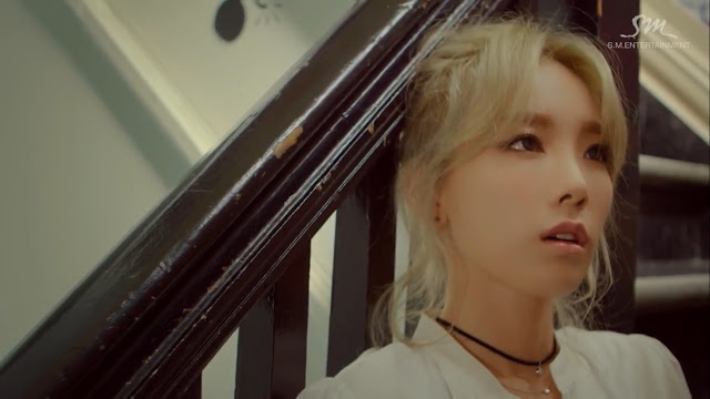 snsd taeyeon acting in her music video