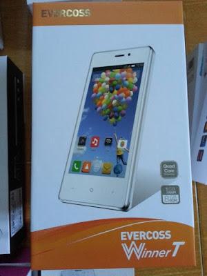 smartphone Evercoos Winner Y Power A75U