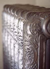 radiador antiguo ahorro energía decoración