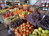 Funchal ovocný trh