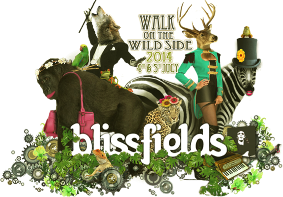 """Blissfields Festival and Born Free Foundation """"Walk On The Wild Side"""" in 2014"""