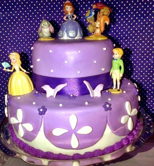 MuyAmeno.com: Tortas Princesa Sofia, parte 2