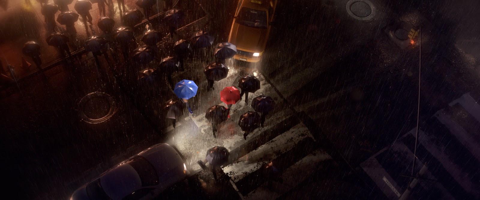A New Pixar Short The Blue Umbrella