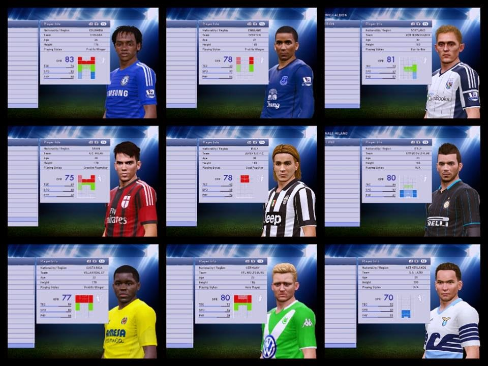 Option File PES 2015 untuk PTE 4.0 Update 4 Februari 2015