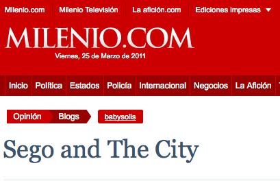 Sego y ovbal entrevista sego para milenio noticias mexico for Entradas 4 milenio