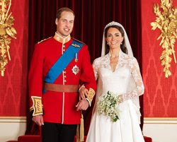 foto pernikahan resmi Pangeran William dan Kate Middleton