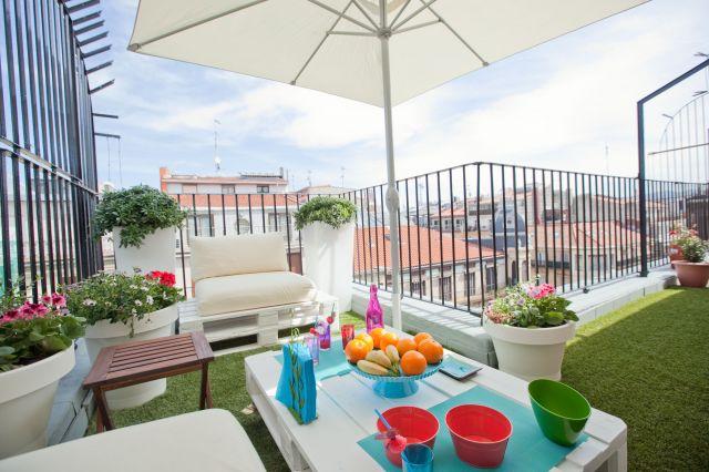 Decoraxpoco balcones terrazas patios - Decoracion terrazas chill out ...