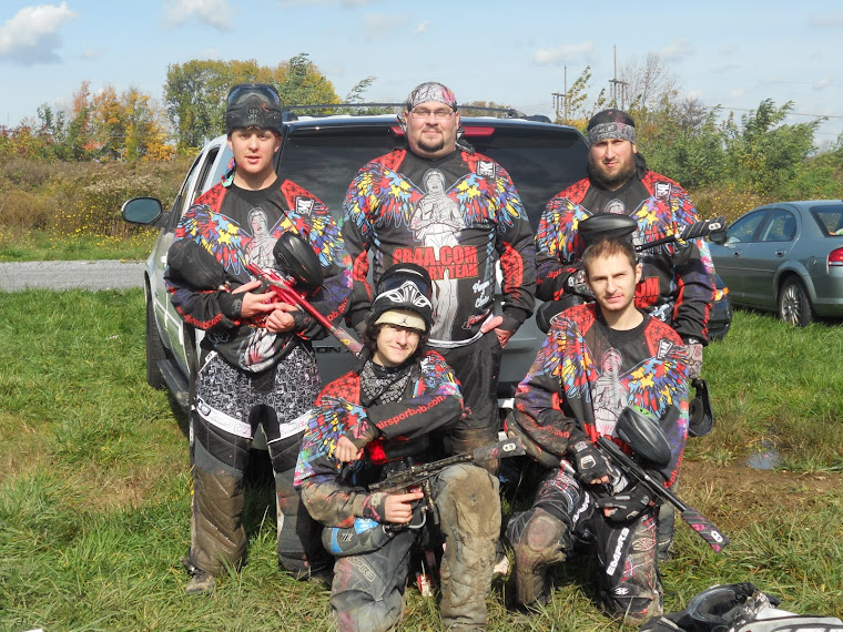 Paintballers 4 Autism 1st team