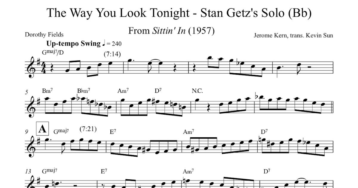 Stan Getz on \