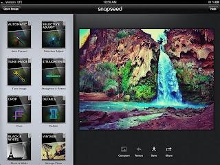 Snapseed Aplicación genial para tus fotos