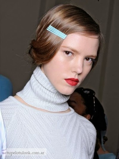peinados con clinejas-clips 2015