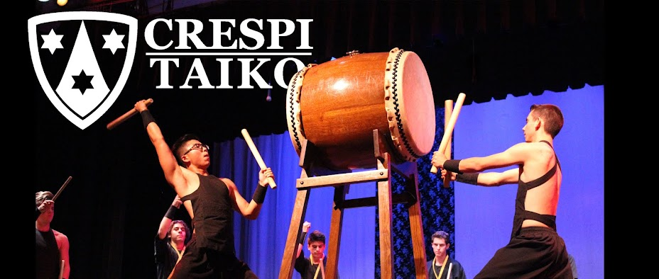 CRESPI CARMELITE HIGH SCHOOL PRESENTS. . . CRESPI TAIKO