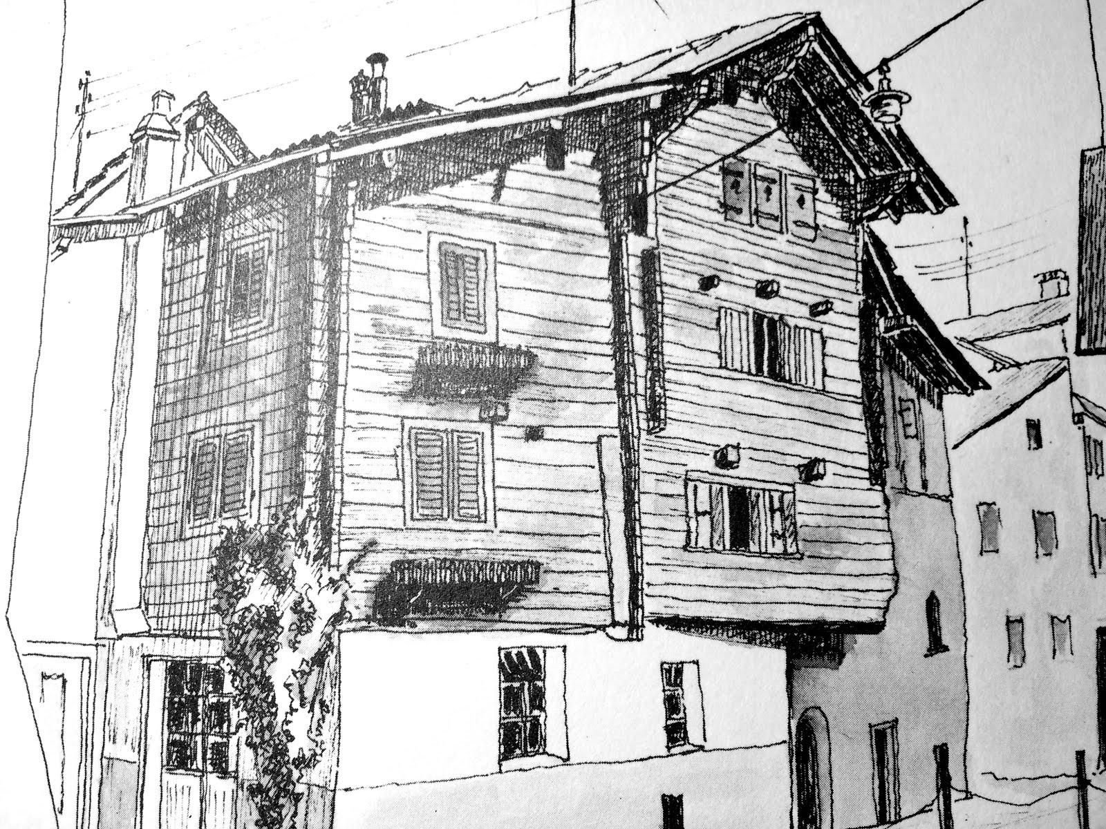 -      Dans la rue du village