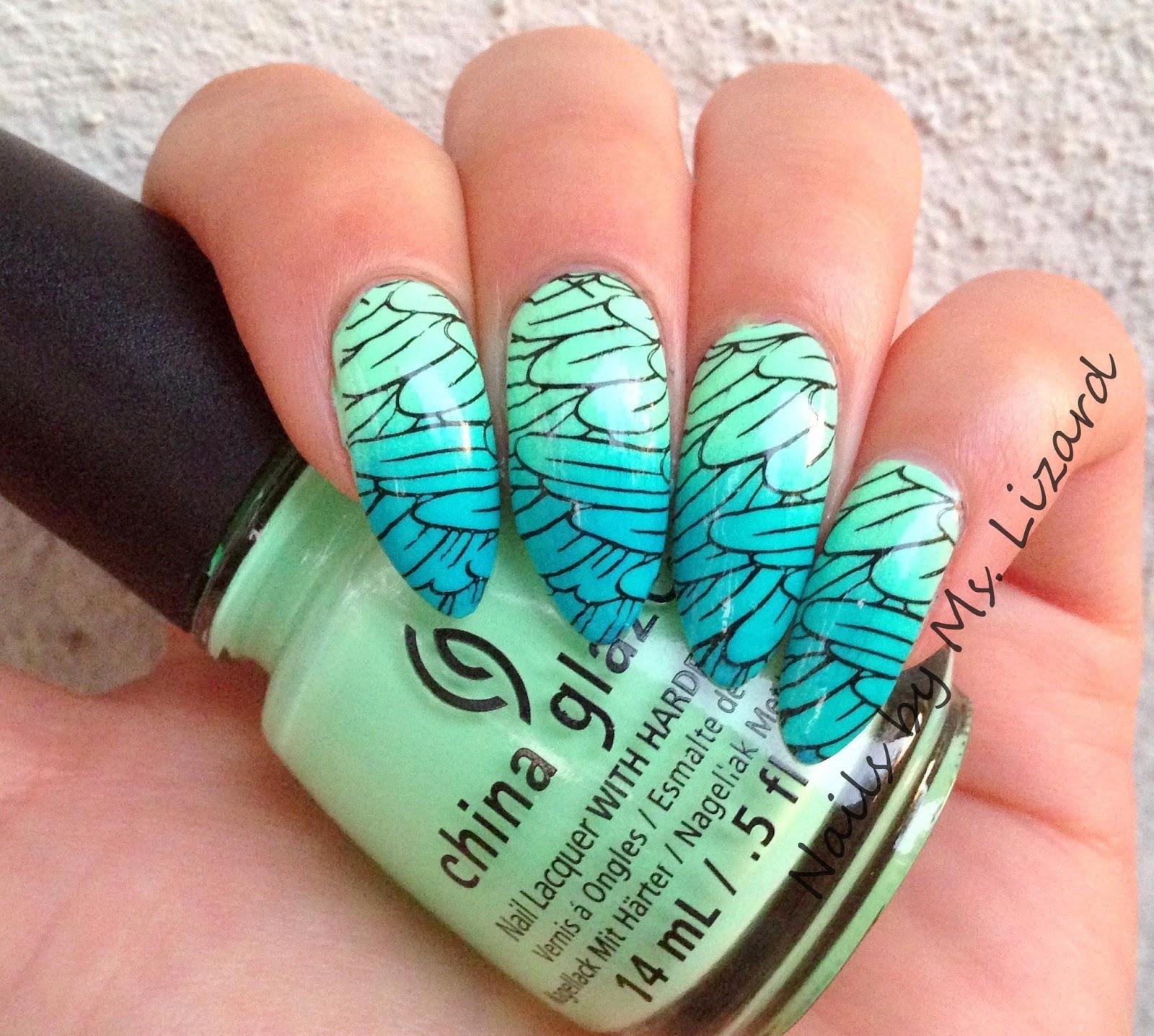 Nails by Ms. Lizard: Born Pretty Store: Pretty Girl Dandelion Theme ...