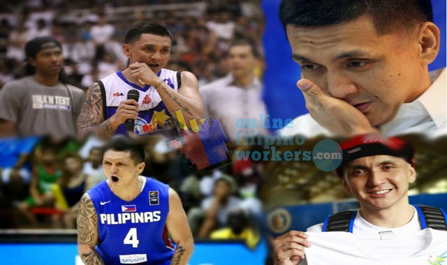 Basketball Fans are Emotional as Talk 'N Text Tropang Texters gave Honor to Jimmy Alapag
