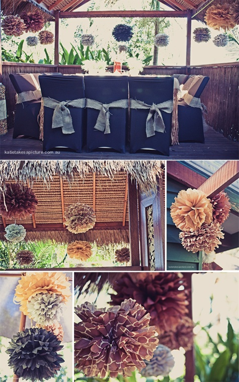 classically chic life and pom-pons-martha stewart wedding