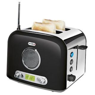 тостер и радио в одном устройстве
