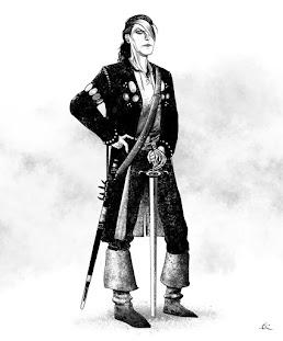 Lucille Astrakaeieas, la espada del sur, la duna inamovible, defensora de las Traiss.
