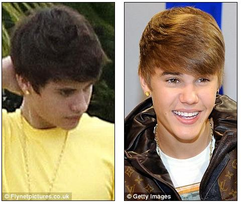 Chat  Justin Bieber   on New Look  Justin Bieber Stepped Out Yesterday With Darker Hair