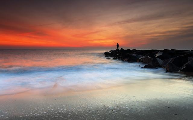 Monmouth Beach New Jersey Imagenes de Hermosos Paisajes HDR de Playas