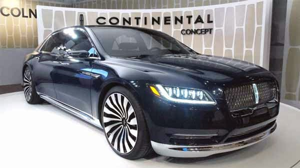 2016 Lincoln Continental Release Date