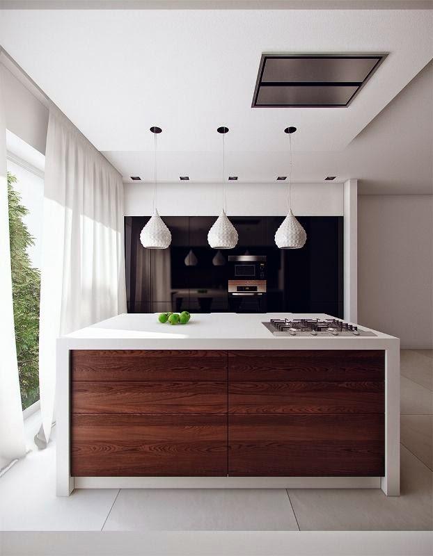 cocinas pequeñas modernas