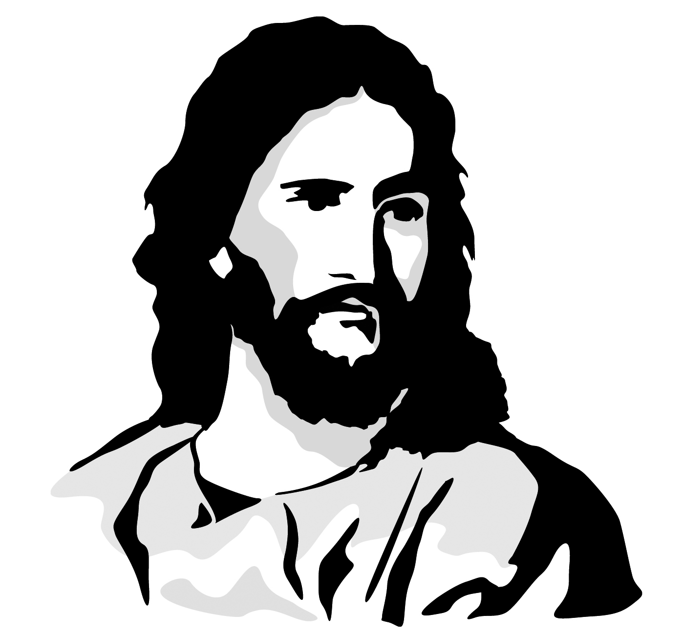 clipart cartoon jesus - photo #9