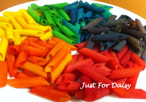 Rainbow Pasta - Just For Daisy