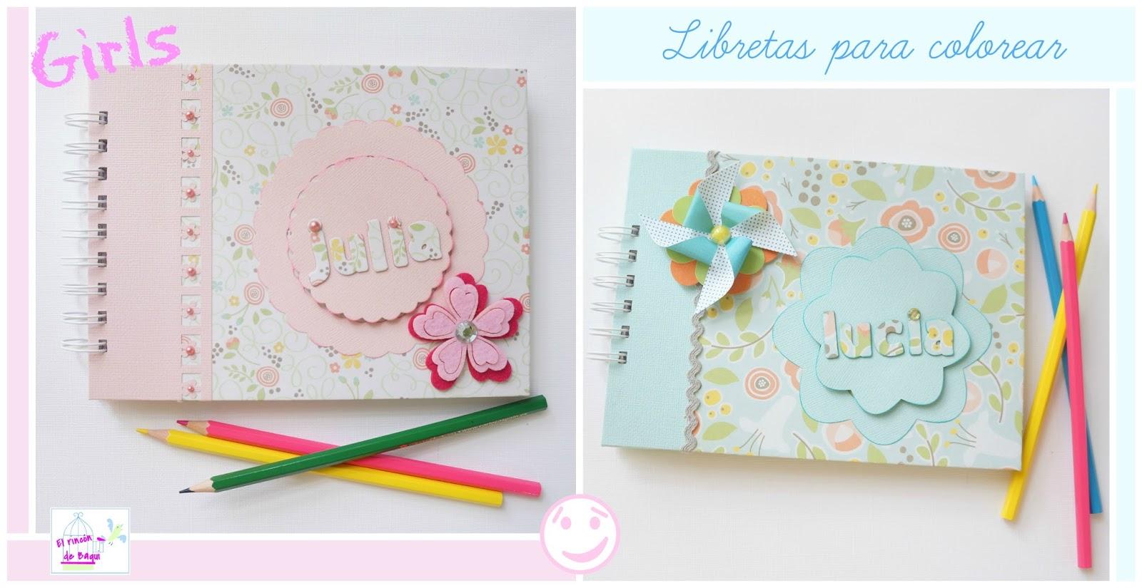 C mo hacer libretas infantiles para colorear el rincon - Como decorar un dibujo ...