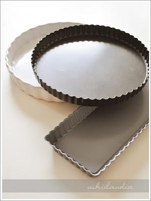 foremki do ciastek i formy do pieczenia ciast - przewodnik (forma do tarty okrągła, prostokątna)