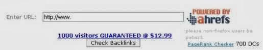 situs yang menyediakan layanan cek backlink secara gratis