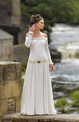Medieval Celtic Wedding Dress   Traditional Wedding Dresses