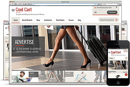 Templatic - CoolCart Responsive eCommerce Theme
