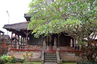 Karangasem style building