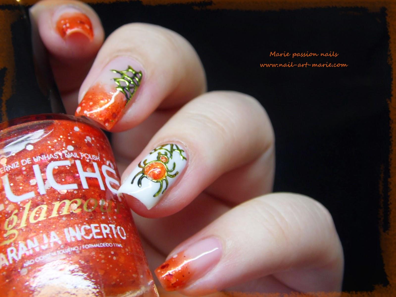 Nail Art Halloween Chic8