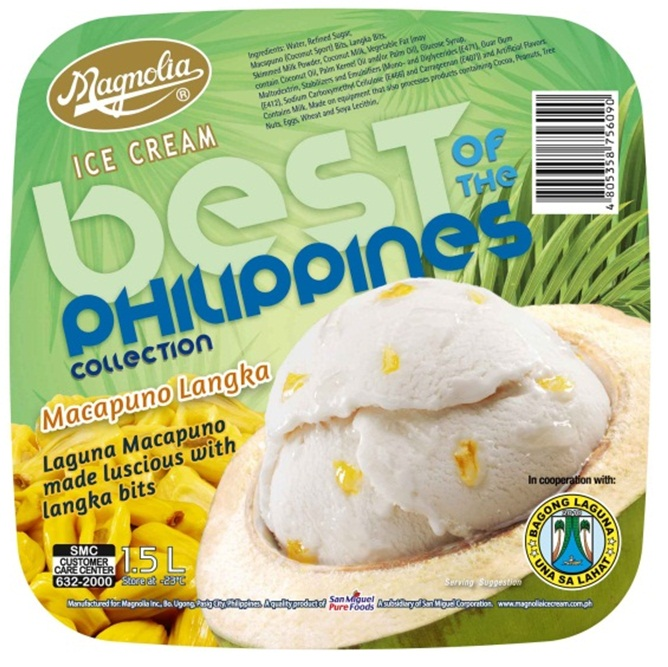 """magnolia ice cream Last week, magnolia ice cream, the first name in ice cream, launched its newest flavors to promote the tourist spots and the festivals of laguna and batangas, among other provinces in line with the philippines' tourism campaign with the theme """"it's more fun in the philippines"""" magnolia ice ."""