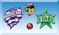 BBL T20 Live Streaming Melbourne Stars vs Hobart Hurricanes Jan 6 2016 Online Web TV Channels Free.
