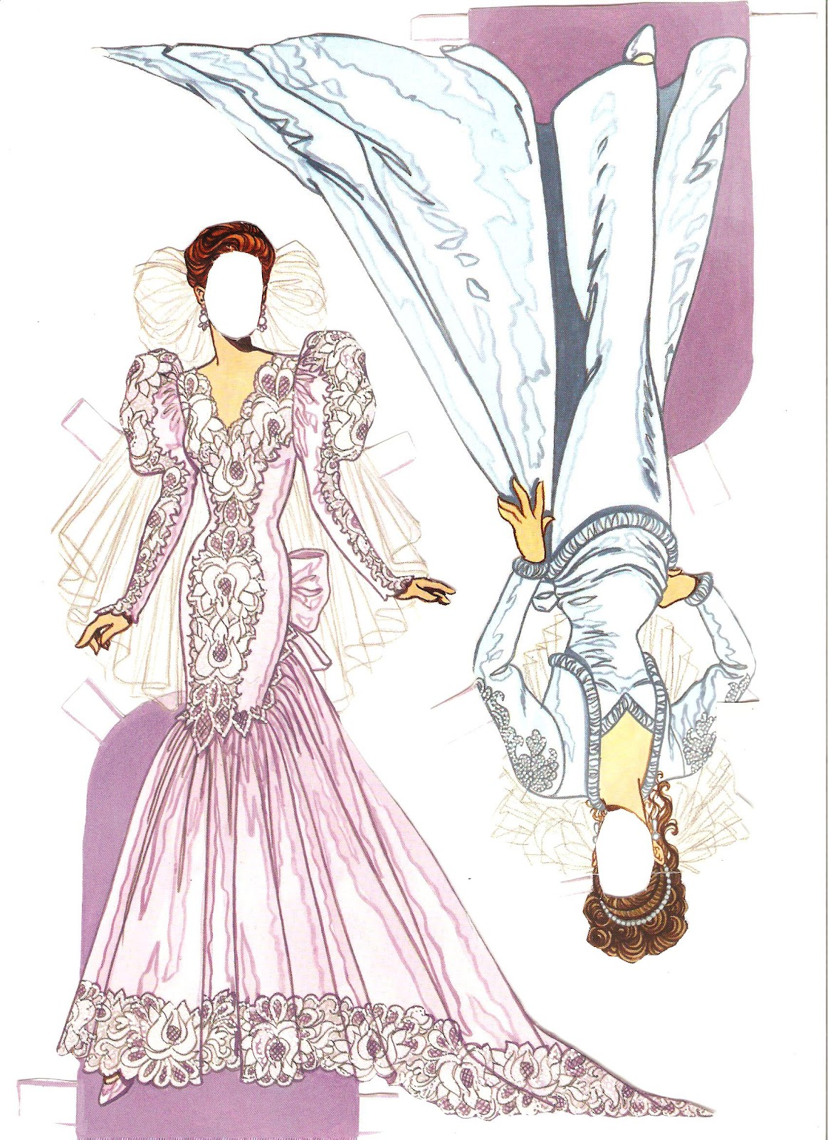 Miss Missy Paper Dolls: Wedding Fashion Paper Doll