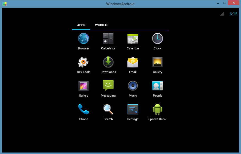 WindowsAndroid - Android Emulator for PC Free Download