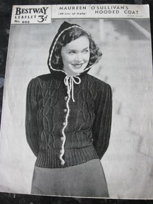 Vintage Bulletin The Vintage Clothing Blog Celebrity Knitting Patterns
