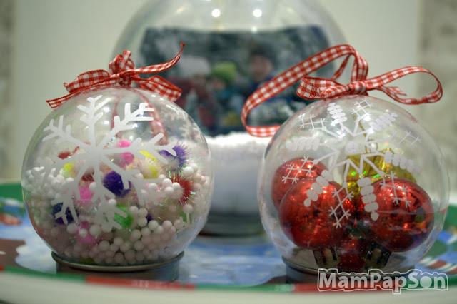 Мастер-класс по декорированию прозрачных елочных шаров