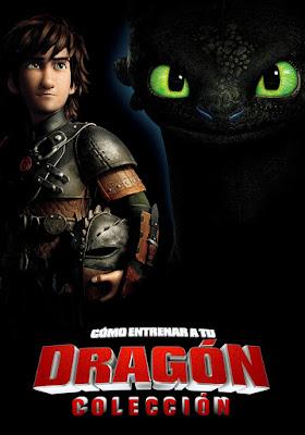 How To Train Your Dragon Coleccion DVD R1 NTSC Latino + CD