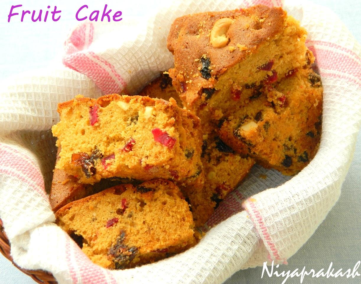 Niya's World: Rich Fruit Cake (2nd recipe, with caramel sugar syrup ...
