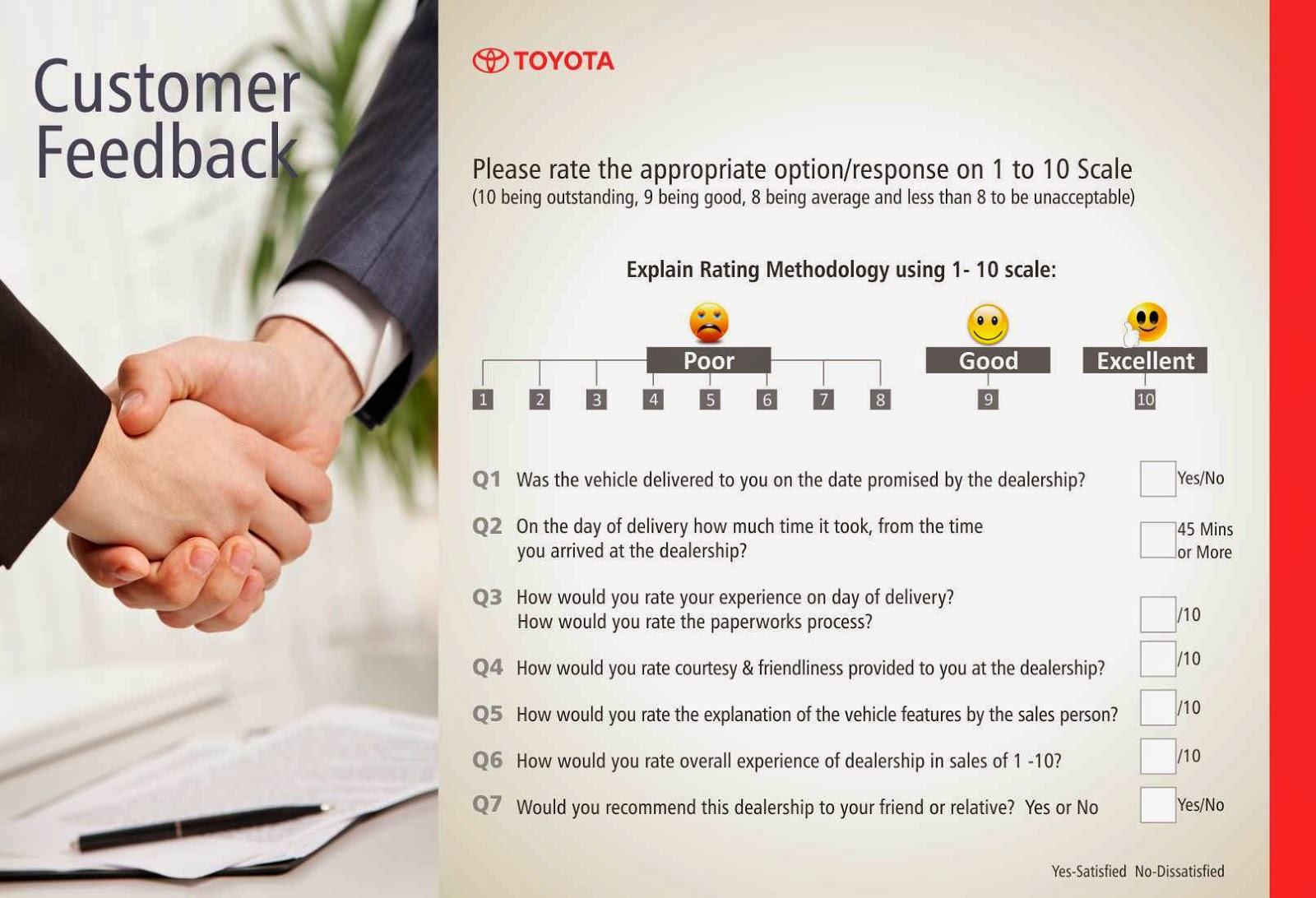 toyota customer buying behaviour The study also sought to assess the customer experience the 2014 global automotive consumer study focuses on the changing nature reasons for not buying.