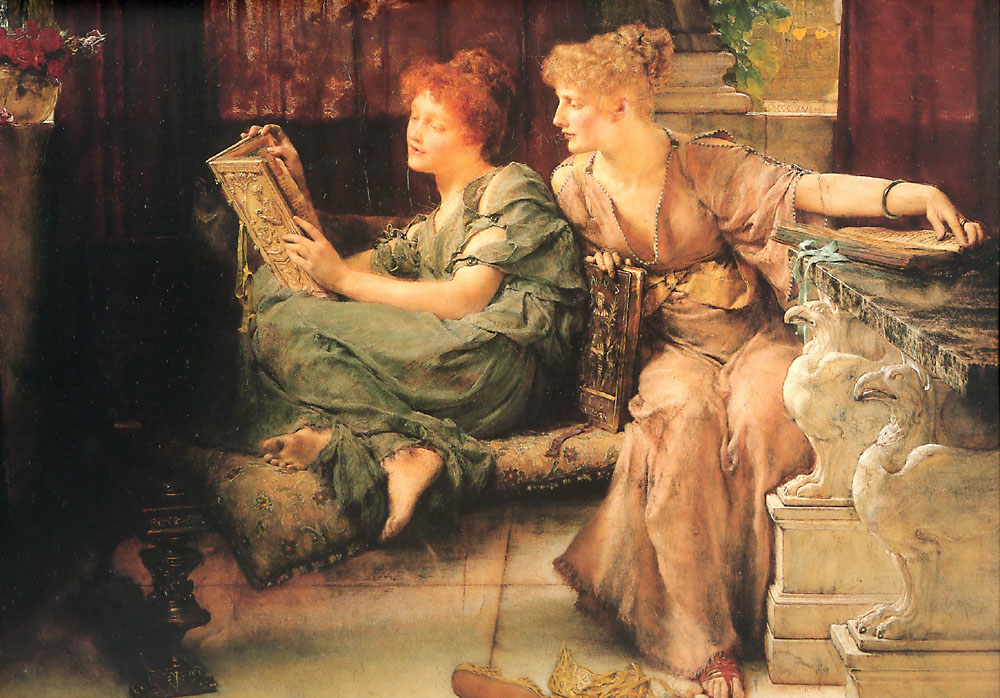 alma-tadema comparisons painting