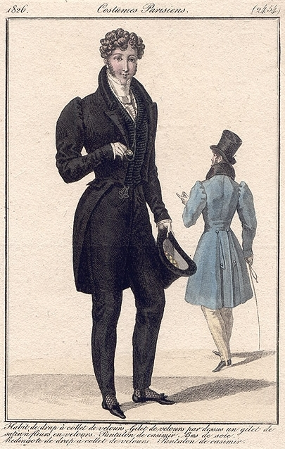 Costume Parisiens 1826