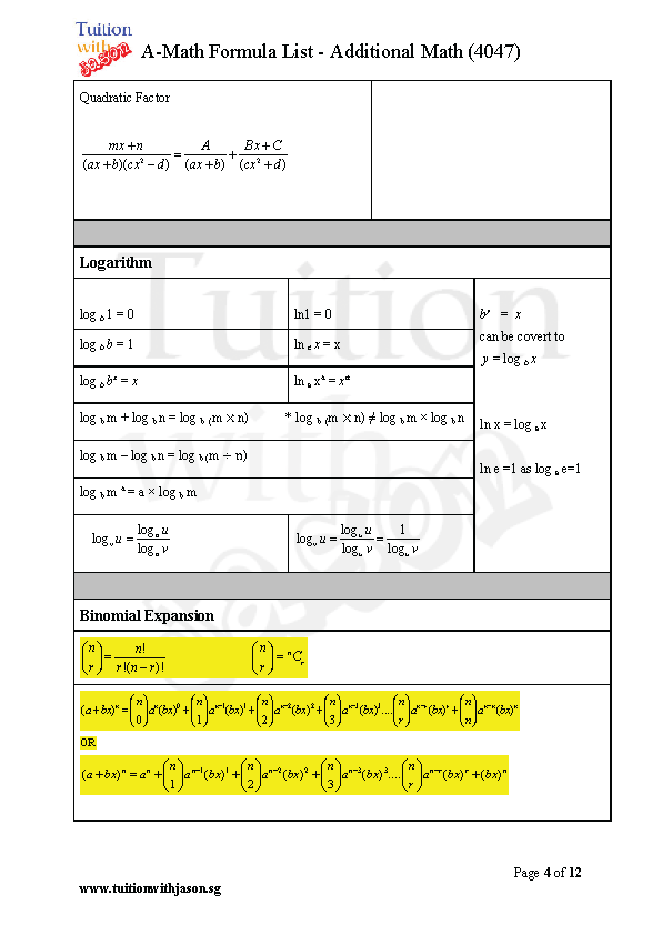 additional mathematics o level book pdf