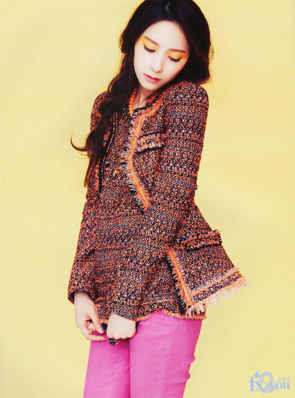 f(x)'s Krystal in Vogue Korea! | Daily K Pop News F(x) Krystal 2013