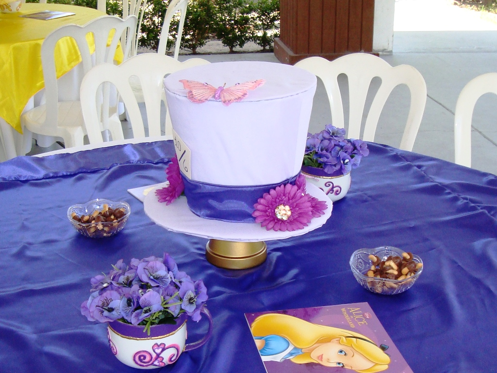 diy mad hatter centerpieces this fairy tale life rh thisfairytalelife com Mad Hatter Tea Party Mad Hatter Decorations